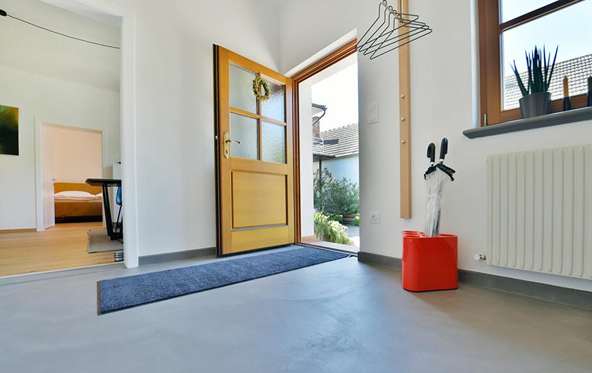 Eingangsbereich in Johannas Ferienwohnung