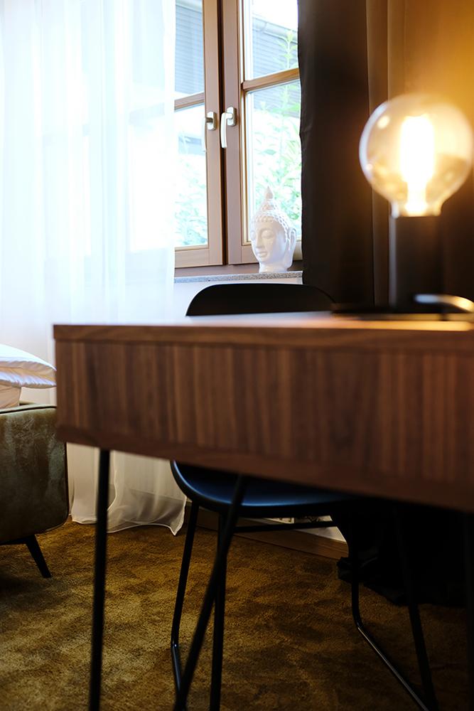 Schreibtisch in Johannas Ferienwohnung